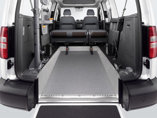 fahrzeuge f r menschen mit behinderung caddy und caddy. Black Bedroom Furniture Sets. Home Design Ideas